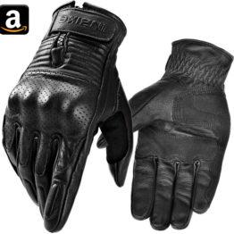 INBIKE Motorrad Handschuhe Ziegenleder
