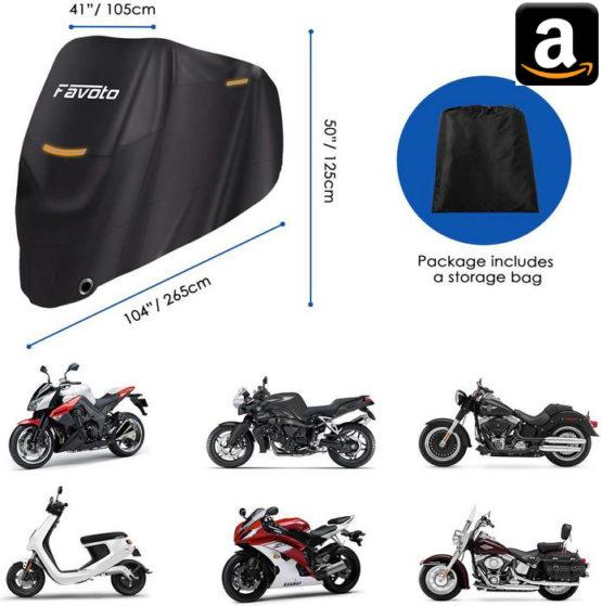 Abdeckung Motorrad